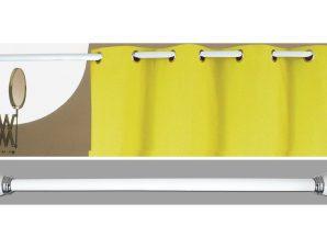 Βραχίονας Μπάνιου Πτυσσόμενος San Lorentzo Decor 010 Λευκός 140-260cm
