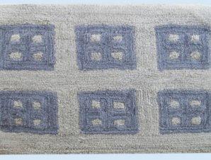 Πατάκι Μπάνιου Dimcol Παράθυρο Grey 50×85
