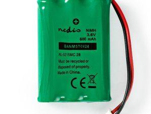 Επαναφορτιζόμενες μπαταρίες Nedis BANM5T0424 AAA 600mAh Ni-MH 3.6V