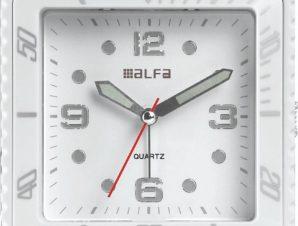 Επιτραπέζιο ρολόι Alfaone 2810 αναλογικό LED