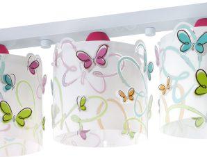 Φωτιστικό οροφής Ango Butterfly τρίφωτο
