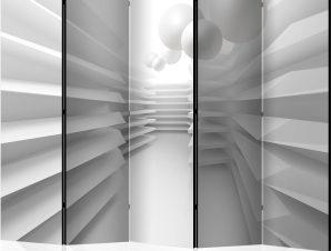 Διαχωριστικό με 5 τμήματα – White Maze II [Room Dividers]