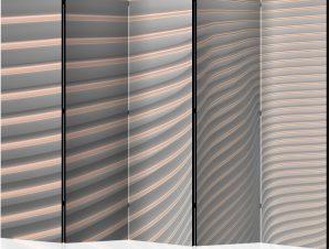Διαχωριστικό με 5 τμήματα – Cool Stripes II [Room Dividers]