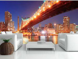 Ταπετσαρία XXL – Queensborough Bridge – New York 550×270