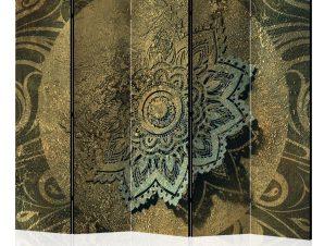 Διαχωριστικό με 5 τμήματα – Golden Treasure II [Room Dividers] 225×172