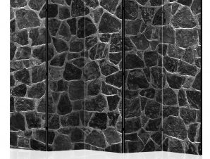 Διαχωριστικό με 5 τμήματα – Black Stones II [Room Dividers] 225×172