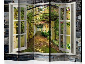 Διαχωριστικό με 5 τμήματα – Secret Garden II [Room Dividers] 225×172