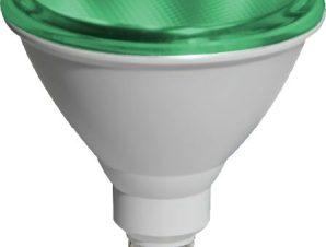 Λαμπτήρας LED E27 PAR38 15W Green