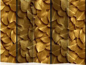 Διαχωριστικό με 5 τμήματα – Golden Leaves II [Room Dividers]