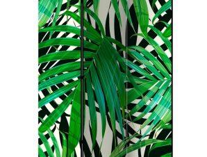 Διαχωριστικό με 3 τμήματα – Tropical Leaves [Room Dividers]