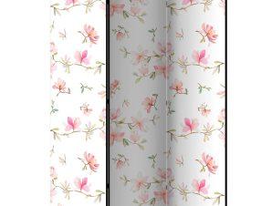 Διαχωριστικό με 3 τμήματα – Fresh Magnolias [Room Dividers]