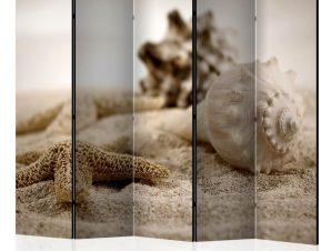 Διαχωριστικό με 5 τμήματα – Beach and shell II [Room Dividers]
