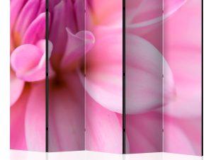 Διαχωριστικό με 5 τμήματα – Flower petals – dahlia II [Room Dividers]