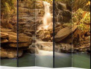 Διαχωριστικό με 5 τμήματα – Sunny Waterfall II [Room Dividers]