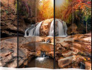Διαχωριστικό με 5 τμήματα – Silent Waterfall II [Room Dividers]
