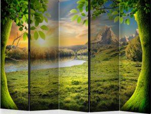 Διαχωριστικό με 5 τμήματα – Glade of dreams II [Room Dividers]