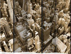 Διαχωριστικό με 5 τμήματα – New York, Manhattan II [Room Dividers]