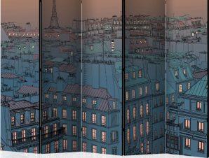 Διαχωριστικό με 5 τμήματα – Good evening Paris! II [Room Dividers]