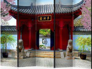 Διαχωριστικό με 5 τμήματα – Chinese botanical garden of Montreal (Quebec Canada) II [Room Dividers]