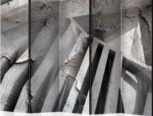 Διαχωριστικό με 5 τμήματα – Beton 3D II [Room Dividers]