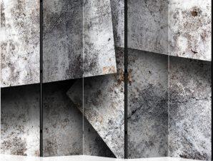 Διαχωριστικό με 5 τμήματα – Concrete cards II [Room Dividers]