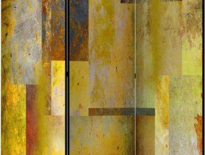 Διαχωριστικό με 3 τμήματα – Orange Hue of Art Expression [Room Dividers]