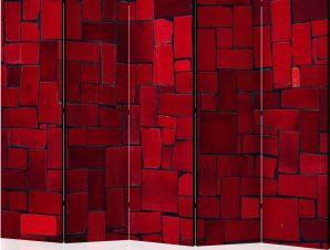 Διαχωριστικό με 5 τμήματα – Red Imagination II [Room Dividers]