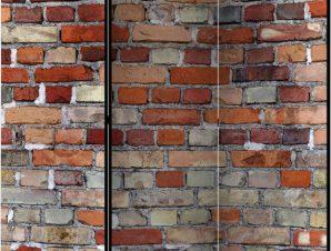 Διαχωριστικό με 3 τμήματα – Urban Brick [Room Dividers]