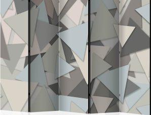 Διαχωριστικό με 5 τμήματα – Geometric Puzzle II [Room Dividers]
