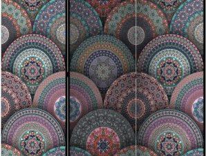 Διαχωριστικό με 3 τμήματα – Oriental Kaleidoscope [Room Dividers]