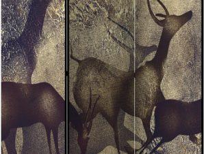 Διαχωριστικό με 3 τμήματα – Antelopes [Room Dividers]