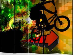 Διαχωριστικό με 5 τμήματα – Bicycle Tricks II [Room Dividers]