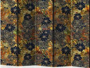 Διαχωριστικό με 5 τμήματα – Floral Madness II [Room Dividers]
