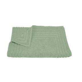 Homeline 856 Ταπέτο Ζακάρ Ρίγα 100% Cotton 50×75 Πράσινο – Πράσινο