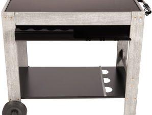 Τραπέζι – τρόλεϊ ψησταριάς Plancha Somagic Perla
